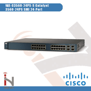 WS-C3560-24PS-S Catalyst 3560-24PS SMI 24-Port